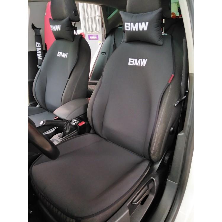 BMW Nakışlı Ön İkili Oto Koltuk Kılıfı