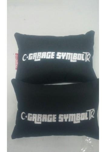 Garaj Symbol Guruba Özel İkili Boyun Yastığı